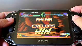 PS Vita PSP Hacks! X Men Vs Street Fighter Homebrew!