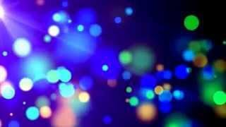 Видеофон Разноцветные частицы