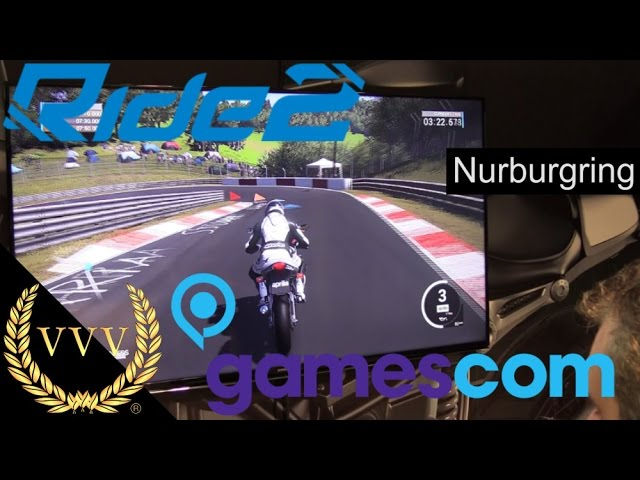 Ride 2 Nurburgring Gameplay Gamescom 2016