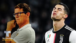 A Cristiano Ronaldo le llueven las críticas en Italia No se va de nadie Telemundo Deportes
