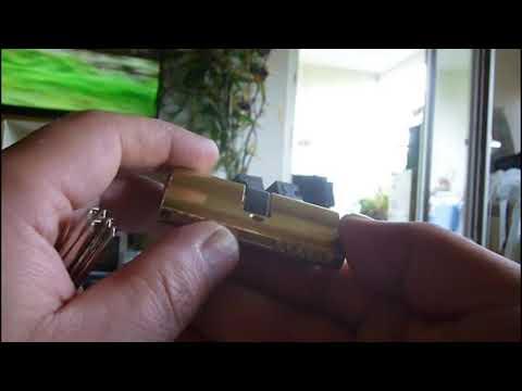 Взлом отмычками EZCURRA DS 15  EZCURRA DS 15 Profielzylinder ()