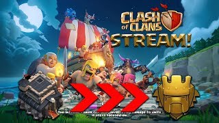 TH9 Pushing To TITANS League! 🏆 CLASH OF CLANS LIVE STREAM! 🏆 CURRENTLY AT 4000 TROPHIES!