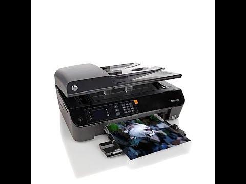 Hp Officejet 4630 Wireless Allinone Printer Youtube