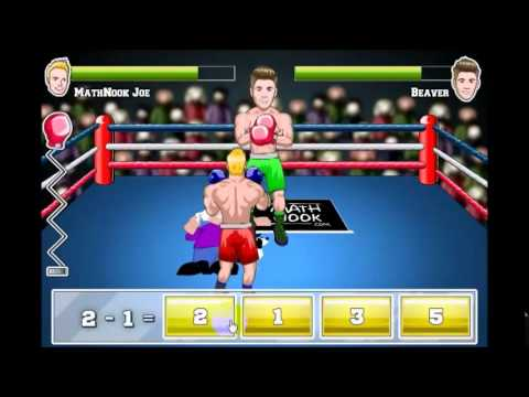 MathNook Boxing Subtraction Math Game Overview