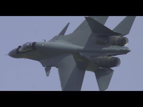 KADEX2018 - Kazakhstan Air Force Su-30SM Demo