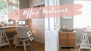 Messy Home Office Makeover, Getting Ready For Autumn!