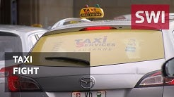 How Lausanne taxis are taking on Uber