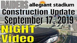 Las Vegas Raiders Allegiant Stadium Construction Update 09 17 2019