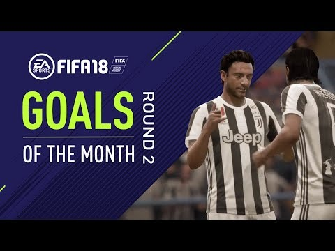 FIFA 18 | Goals of the Month | Round 2