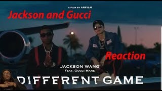 Jackson Wang - Different Game (Official Video) ft. Gucci Mane Reaction Video