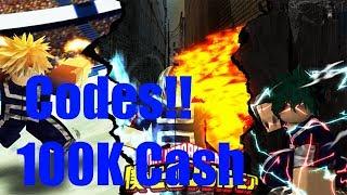 Boku No Roblox Codes 100K Cash