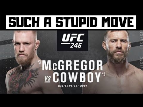 The UFC Just Increased The Cost Of Pay Per View....