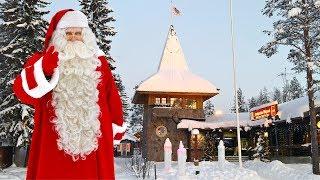 Introduction du Village du Père Noël en Laponie Finlande Message Maison du Papa Noël Rovaniemi Santa