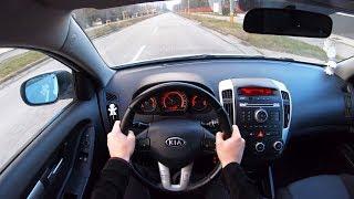 Kia Ceed (2010) - 4K POV Test Drive