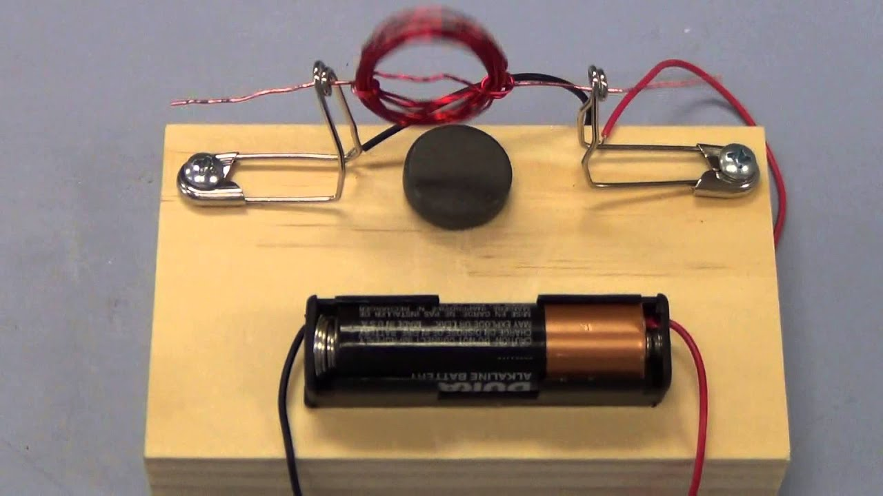 Magnet motor kit youtube for How to make a homemade electric motor