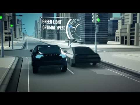 Volvo Car 2 Car Communication Animation | AutoMotoTV