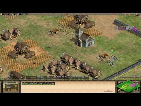Build Order Analysis Viper vs Vinchester Britons Boom into Elite Longbowmen ACL