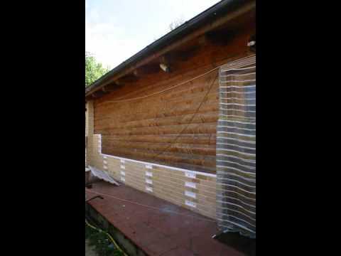 Isolamento termico e coibentazione a cappotto con pannelli - Zoccolo esterno facciata ...