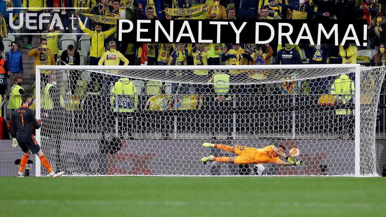 Download VILLARREAL, MAN. UNITED, #UEL FINAL   The full penalty shootout