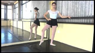 Aula de Ballet - Vídeo aula de Ballet Clássico: Battement Tendu
