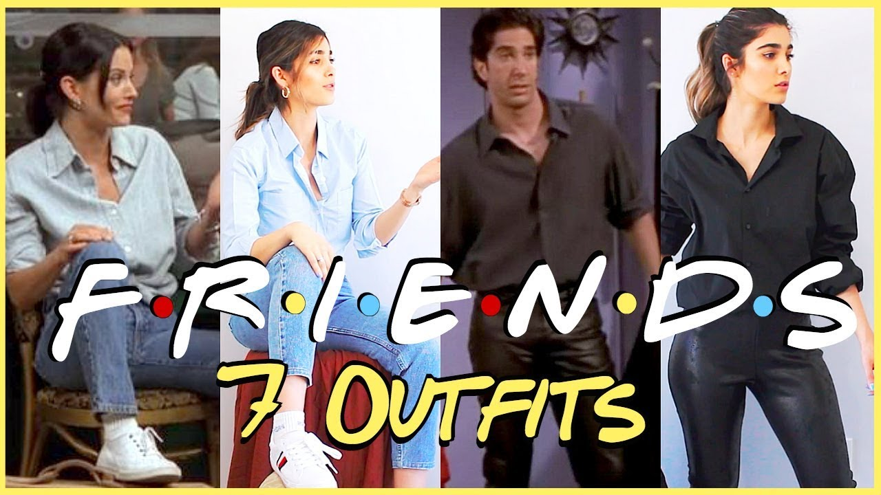 FRIENDS LOOKBOOK ☆ Thrifting Outfits from the 90's 4