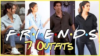 FRIENDS LOOKBOOK ☆ Thrifting Outfits from the 90's