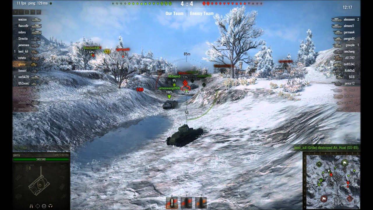 Type 5 Ke-Ho - World of Tanks Blitz Wiki* -