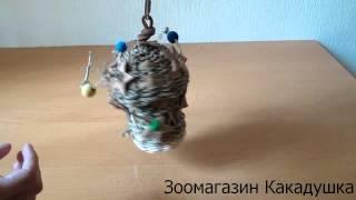 видео Trixie для птиц: игрушки, жердочки, игровые площадки