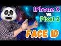 Если сперли, спасет ли Face ID?  iPhone X vs Gogle Pixel 2