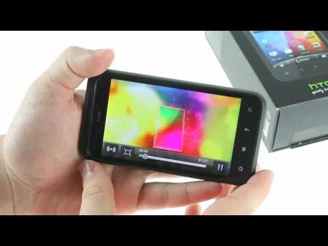HTC Incredible S unboxing & hands-on