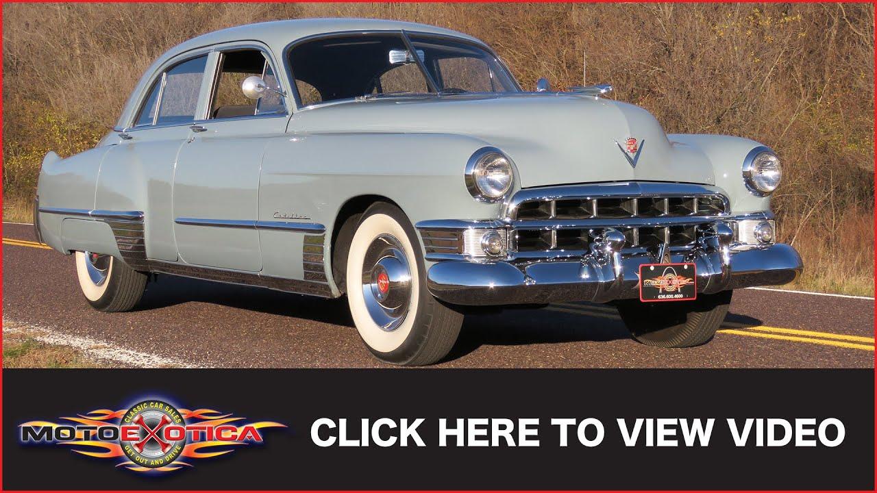 1949 cadillac series 62 sedan sold youtube rh youtube com