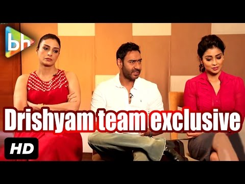 Exclusive: Ajay Devgn   Tabu   Shriya Saran's Interview On Drishyam   Rapid Fire   Kajol