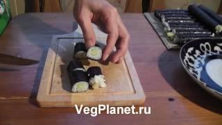 Как крутить роллы, суши