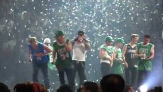 Hangin' Tough / Everybody (Backstreet's Back) Medley - NKOTBSB tour 2011-08-05 Montreal