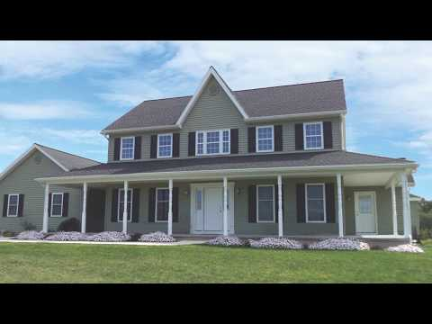 Colonial Home Plan by Brookside Homes