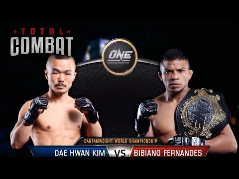 Total Combat | Dae Hwan Kim vs Bibiano Fernandes