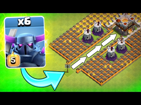 "Thumbnail: ""THE P.E.K.K.A FUNNEL!"" 💥 Clash Of Clans 💥 WILL IT WORK!?! NEW CoC EVENT!"