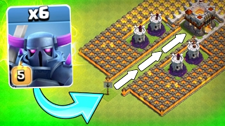 """THE P.E.K.K.A FUNNEL!"" 💥 Clash Of Clans 💥 WILL IT WORK!?! NEW CoC EVENT!"