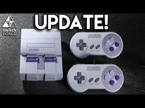 SNES Classic Edition Update! How Many Will They Make? Longer Controller Cable!