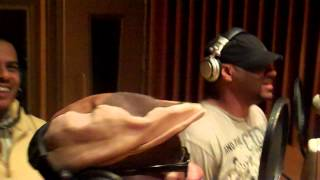 Christopher Williams and JD Lawrence record music for The Clean Up Woman