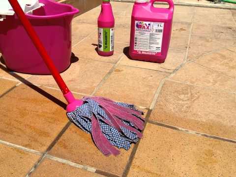 El milagrito como limpiar suelos de gres barro for Como limpiar el suelo de gres para que brille