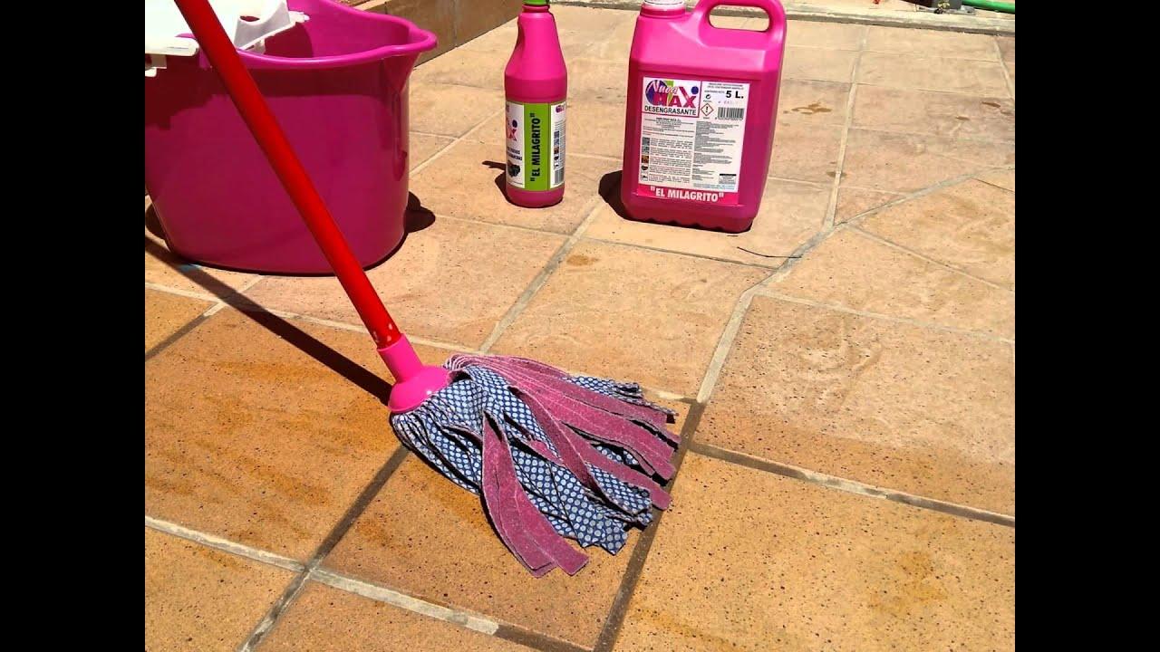 El milagrito como limpiar suelos de gres barro - Limpiar suelos muy sucios ...