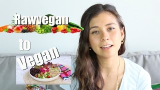 I'M NOT RAW VEGAN ANYMORE?