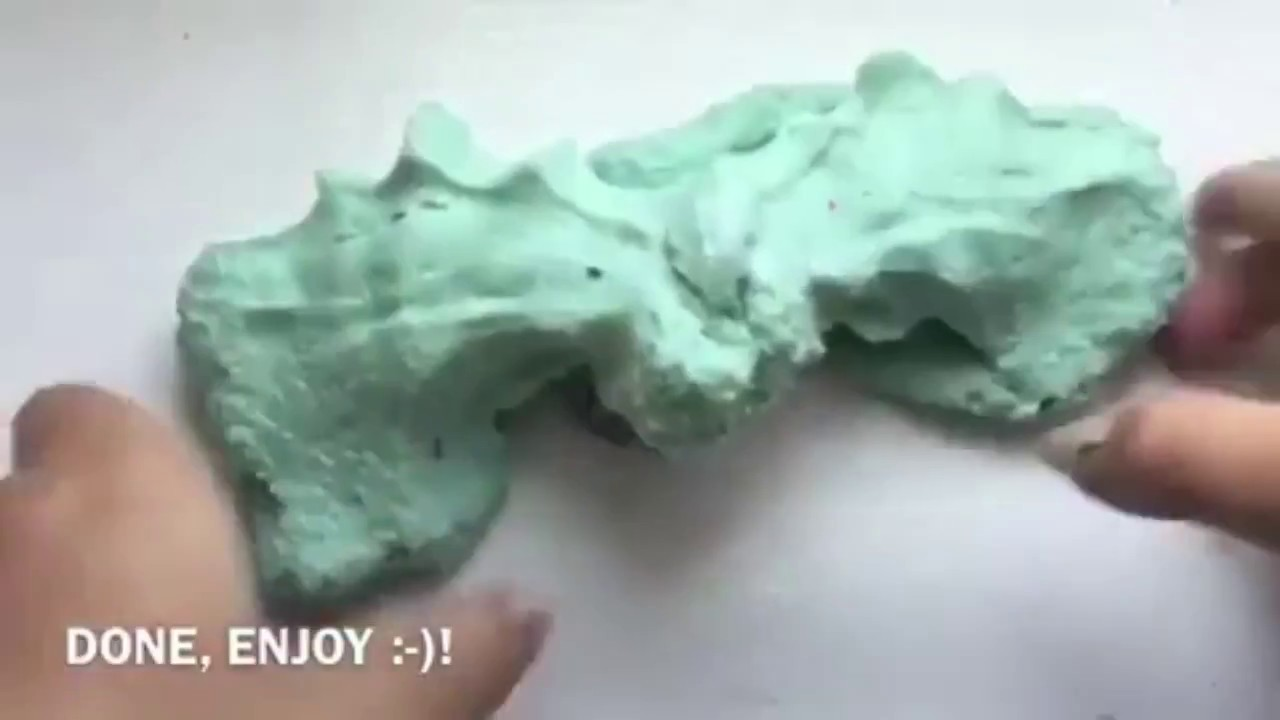 how to make cloud slime without snow youtubehow to make cloud slime without snow