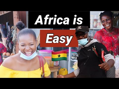 A Real Life View of Rural Ghana , Accra | Nii Yemoh Daily Living , Life in Africa ( Accra , Ghana )