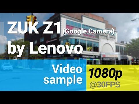 ZUK Z1 1080p video (Google Camera app)