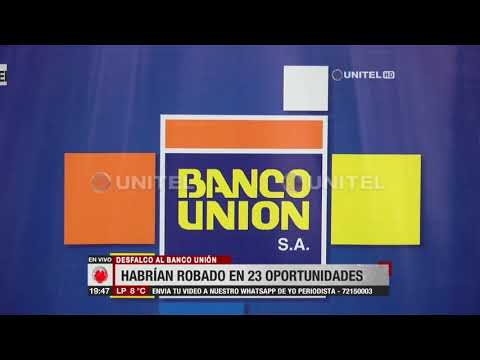 Santa Cruz: Desfalco al Banco Unión, videos revelan en 23 oportunidades