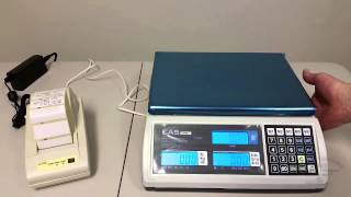 How To Connect the CAS S2000JR Price Computing Scale to DLP-50 Label Printer