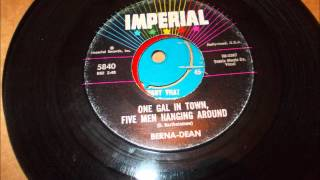 Berna Dean - One gal in town, five men hanging around