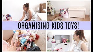 DECLUTTERING & ORGANISING THE KIDS TOYS! | KERRY CONWAY